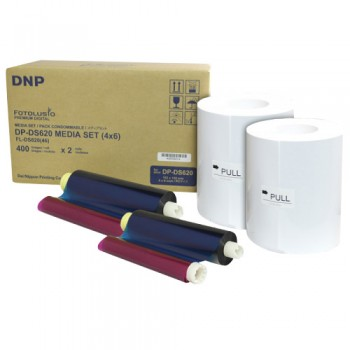 DNP DS40 4x6 Perforated Print Kit
